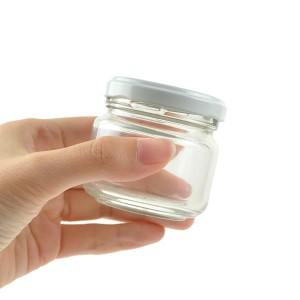保存容器 ジャム瓶 90ml ガラス製