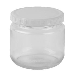 保存容器 ジャム瓶 360ml ガラス製