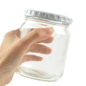 保存容器 ジャム瓶 500ml ガラス瓶