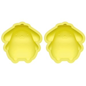 シリコンケーキ型 焼き型 ポムポムプリン シリコン製 2個入 キャラクター