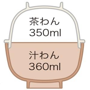 茶わん&汁わんセット リラックマ メラミン製 キャラクター