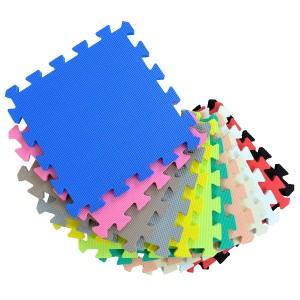 カラージョイントマット 96枚セット 厚さ1.4cm ( パズルマット )