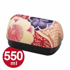 お弁当箱 ランチボックス HAKOYA 布貼おにぎり弁当 550ml 桜ピンク 和風柄