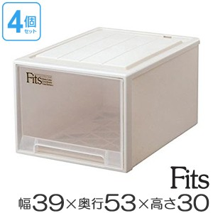 収納ケース Fits フィッツ フィッツケース フィッツケースクローゼット L-53 3個セット ( 押入れ収納 )