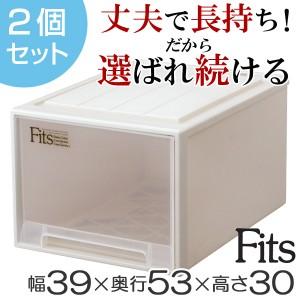 収納ケース Fits フィッツ フィッツケース フィッツケースクローゼット L-53 2個セット ( 押入れ収納 )