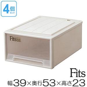 収納ケース Fits フィッツ フィッツケース フィッツケースクローゼット M-53 5個セット ( 押入れ収納 )