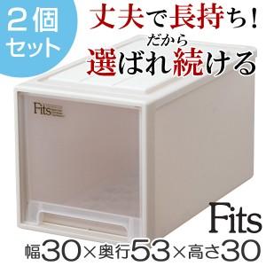 収納ケース Fits フィッツ フィッツケース フィッツケースクローゼット L-30 2個セット ( 押入れ収納 )