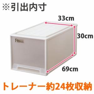 収納ケース Fits フィッツ フィッツケース ビッグ 引き出し プラスチック 2個セット ( 押入れ収納 )
