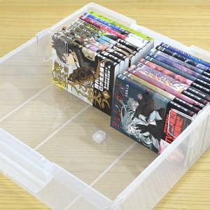 コミック収納ケース いれと庫 コミック本用 ワイド 8個セット ( フタ付き )