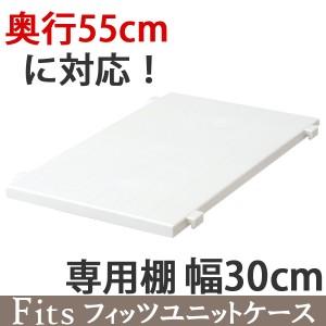 専用棚 幅30cm フィッツユニットケース (奥行55cm)専用 Fits フィッツ