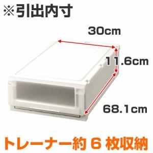 収納ケース Fits フィッツ フィッツユニット ケース L 3918 引き出し プラスチック 2個セット ( 収納ボックス )