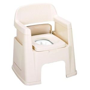 ポータブルトイレ 背もたれ型 ( 排泄関連用品 )
