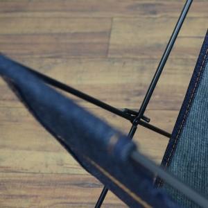 マガジンラック L.S.M. デニム 収納ラック 折り畳み式