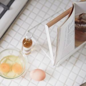 ブックスタンド レシピスタンド 木製 トスカ tosca タブレットスタンド