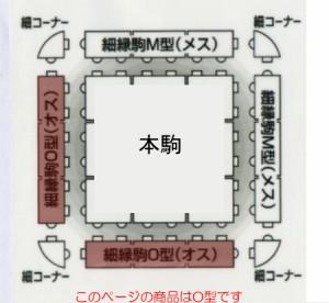 人工芝 若草ユニット 細縁駒 O(オス)型 Eタイプ用