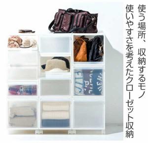 収納ケース 引き出しタイプ クローゼット収納 引き出し 高さ31cm 日本製 同色2個セット ( 収納ボックス )