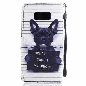 Galaxy S8 Plus レザーケース E 強化ガラス保護フィルム付き ギャラクシーS8 プラス カバー 手帳型スタンド機能 ICカードスロット 札入れ