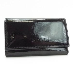 a07597f5a3fa グッチ 6連キーケース(1欠)アウトレット商品 ブラック 260989 中古 Bランク