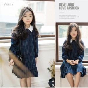 d86058a23c834 子供ワンピース 子どもドレス ベビー 赤ちゃん 女の子 長袖 発表会 韓国子供服 ふわふわ フォーマルドレス