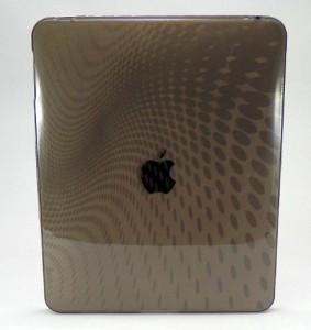 iPad1 カバー ウェーブデザイン (グレー)