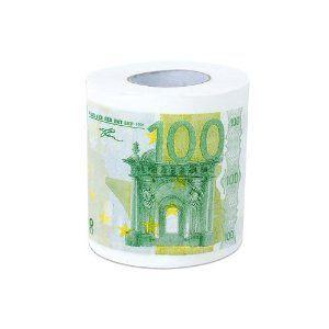 トイレットペーパー ユーロ札 2コセット