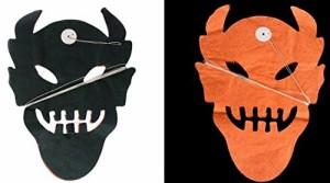 【お取り寄せ】パーティーフラッグ ハロウィン デビル 悪魔 ブラック オレンジ 3m 10個セット