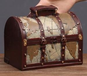 f11f79cfa2 【お取り寄せ】オブジェ 貯金箱 ビンテージ風 トランク 旅行バッグ (ベージュ)