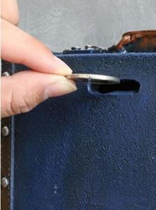 cbdf6047a9 【お取り寄せ】オブジェ 貯金箱 ビンテージ風 レトロなトランクケース 旅行バッグ型 (ブルー)