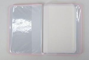 カードケース リボン 10個セット (レッド,ピンク,ライトピンク)