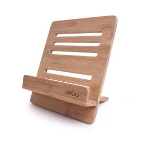 ブックスタンド レシピスタンド スクエア型 シンプル 可変式 木製