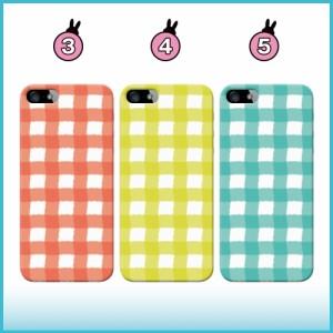 送料無料/iPhone6/iPhone6 Plus/iPhone5/5s/iPhone5c/iPhone4s/iPhone4/アイフォン/スマホケース/シンプル/ゆれチェック/q0003-c0040-1
