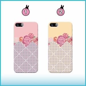iPhone 6 ケース iPhone 6 スマホケース チェック/花柄 送料無料 アイフォン 6 ハードケース docomo