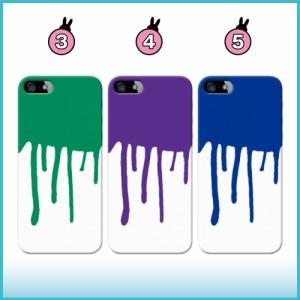 iPhone 7 ケース iPhone 7 スマホケース 垂れペンキ/W 送料無料 アイフォン 7 ハードケース docomo