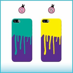 iPhone 5c ケース iPhone 5c スマホケース 垂れペンキ 送料無料 アイフォン 5c ハードケース SoftBank