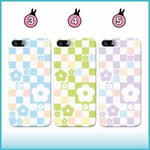 AQUOS PHONE es ケース WX04SH スマホケース ブロックデイジー02 送料無料 アクオスフォン es ハードケース
