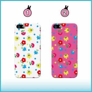 Disney Mobile ケース DM-01H スマホケース 花柄パターン01 送料無料 ディズニー・モバイル オン ドコモ ハードケース