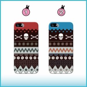 iPhone 7 Plus ケース iPhone 7 Plus スマホケース スカル×エスニック 送料無料 アイフォン 7 プラス ハードケース SoftBank