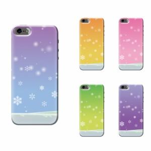 iPhone SE ケース iPhone SE スマホケース 雪空 送料無料 アイフォン SE ハードケース au