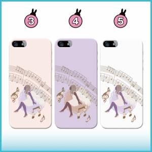 iPhone7ケース/アイフォン7ケース/送料無料/即納/全機種対応/スマホケース/iPhone6s/iPhone6/Xperia/他/天使と音符/q0002-j0010-zn