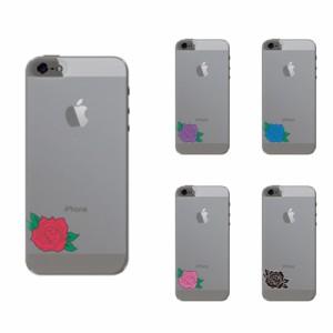 iPhone SE ケース iPhone SE スマホケース バラ 送料無料 アイフォン SE ハードケース docomo