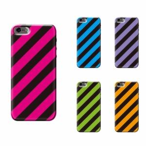 iPhone X ケース iPhone X スマホケース ストライプ柄 送料無料 アイフォン X ハードケース iPhone