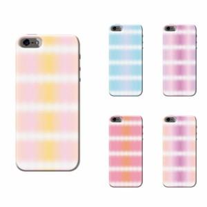 iPhone 7 Plus ケース iPhone 7 Plus スマホケース タイダイストライプ柄 送料無料 アイフォン 7 プラス ハードケース SoftBank