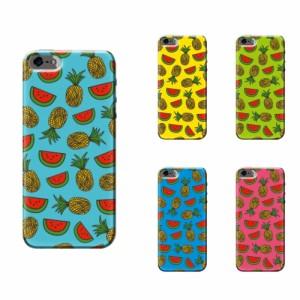 iPhone 7 ケース iPhone 7 スマホケース サマーフルーツ 送料無料 アイフォン 7 ハードケース au