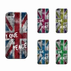 iPhone 6 Plus ケース iPhone 6 Plus スマホケース unionjack&message 送料無料 アイフォン 6 プラス ハードケース SoftBank