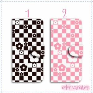 iPhone 5s 手帳型 スマホケース iPhone 5s ケース 分厚い白革 ブロックデイジー1 送料無料 アイフォン 5s