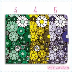 AQUOS SERIE mini 手帳型 スマホケース SHV38 ケース 分厚い白革 花柄パターン08 送料無料
