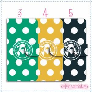 AQUOS SERIE mini 手帳型 スマホケース SHV38 ケース キャメル イラスト/サンタfuckyou 送料無料 手帳ケース