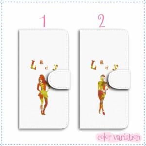 iPhone 6 手帳型 スマホケース iPhone 6 ケース 分厚い白革 Lady 送料無料 アイフォン 6