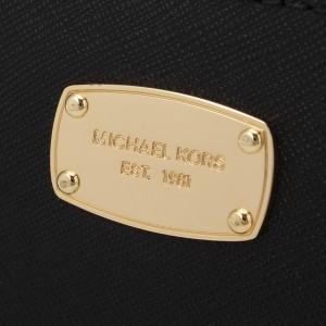 マイケルコース 長財布 MICHAEL MICHAEL KORS L字ファスナー ブラック レザー 35t6gtve3l-black アウトレ