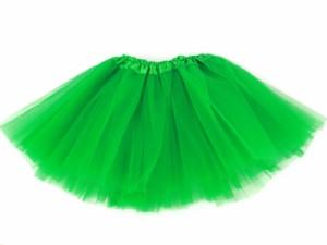 子ども ガーゼスカート プリンス風無地ドレス/緑色 送料込